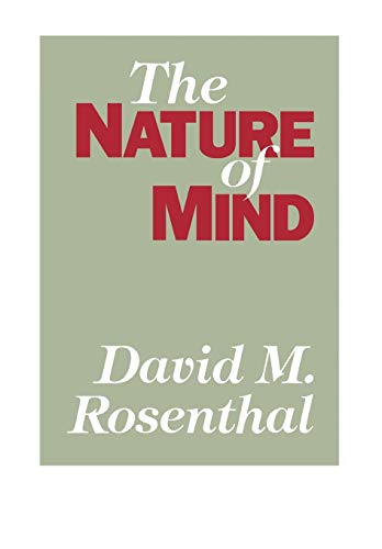 The Nature of Mind, by Rosenthal, D. (Ed.)