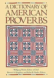A Dictionary of American Proverbs par…
