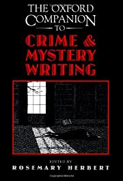 The Oxford Companion to Crime and Mystery…