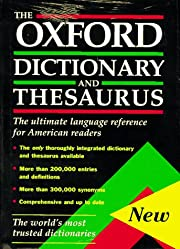 The Oxford Dictionary and Thesaurus: The…