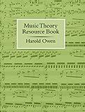 Music theory resource book / Harold Owen