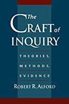 The Craft of Inquiry: Theories, Methods,…