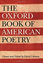 The Oxford Book of American Poetry par David…