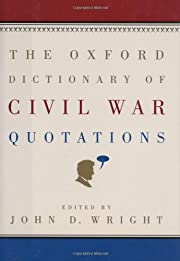 The Oxford Dictionary of Civil War…