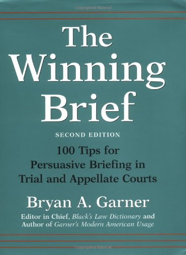 """""""Pssst. … Here's the Secret to Writing a Winning Appeal Brief."""""""