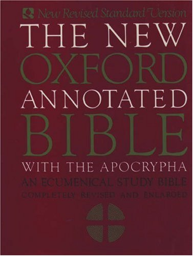 Image for The New Oxford Annotated Bible with Apocrypha: An Ecumenical Study Bible