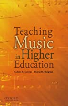 Teaching Music in Higher Education by…