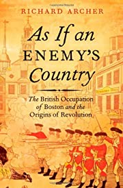 As If an Enemy's Country: The British…