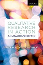 Qualitative Research in Action: A Canadian…