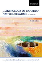 An Anthology of Canadian Native Literature…
