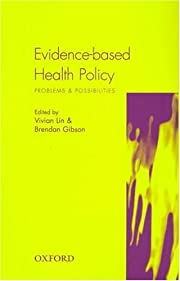 Evidence-based health policy : problems and…