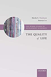 The Quality of Life (WIDER Studies in…