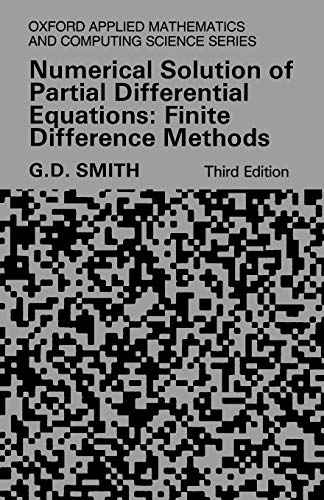 PDF] Numerical Solution of Partial Differential Equations