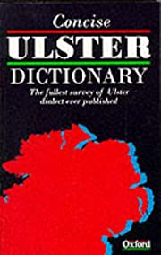 A Concise Ulster Dictionary de Caroline…