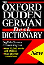 The Oxford-Duden German Desk Dictionary by…