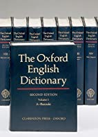 The Oxford English Dictionary (20 Volume…