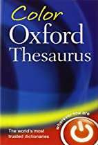 Color Oxford Thesaurus by Maurice Waite