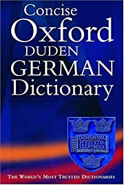 The Concise Oxford-Duden German Dictionary…