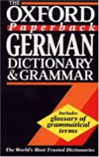The Oxford Paperback German Dictionary and…