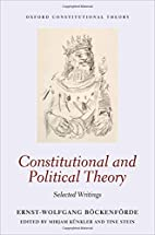 Constitutional and political theory :…