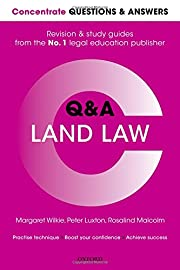 Concentrate Questions and Answers Land Law:…