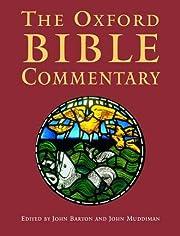 The Oxford Bible commentary por John Barton