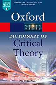 A Dictionary of Critical Theory (Oxford…