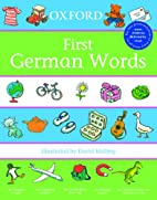 First German words by David Melling