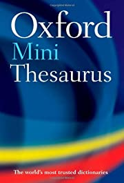 oxford-mini-thesaurus de oxford-dictionaries
