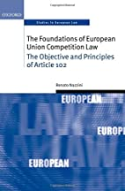The Foundations of European Union…