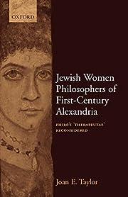 Jewish Women Philosophers of First-Century…