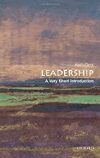 Leadership : a very short introduction by…