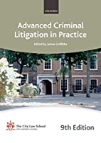 Advanced Criminal Litigation In Practice 9th…