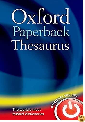 Livre By Varios Autores Oxford Paperback Thesaurus Pdf Epub Lire