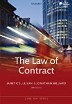 The Law of Contract (Core Texts Series) by…