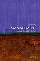 Management : a very short introduction by…