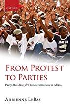 From Protest to Parties: Party-Building and…