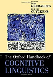The Oxford Handbook of Cognitive Linguistics…