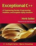 couverture du livre Exceptional C++