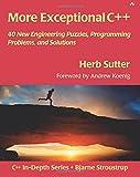 couverture du livre More Exceptional C++