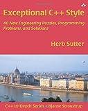 couverture du livre Exceptional C++ Style