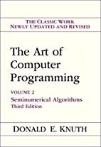 The Art of Computer Programming, Volume 2:…