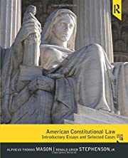 American Constitutional Law: Introductory…