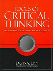 Tools of Critical Thinking: Metathoughts for…