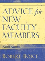 Advice for New Faculty Members – tekijä:…