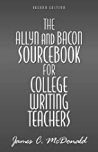 The Allyn & Bacon Sourcebook for College…