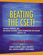 Beating the CSET! Methods, Strategies, and…