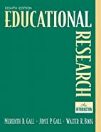 Educational Research: An Introduction (8th…
