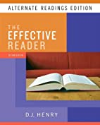Effective Reader, The, Alternate Reading…