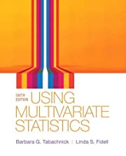 Using Multivariate Statistics (6th Edition)…